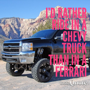 Country Girls and Chevy Trucks