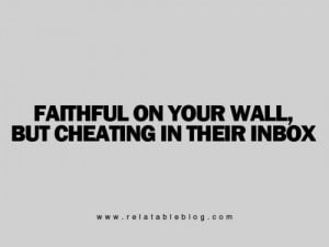 Topic of the day: What gives you the motivation to cheat….