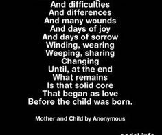 Single mother quotes - mother and child - parenting quotes ...