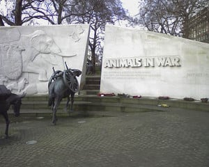 THE ANIMALS IN WAR MEMORIAL