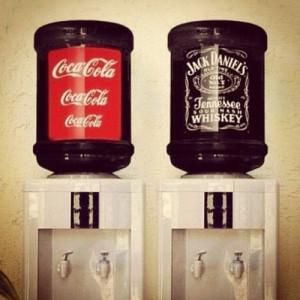 Best of friends. Jack Daniel's and Coca Cola