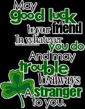 Good Luck Quotes Irish Sayings. QuotesGram
