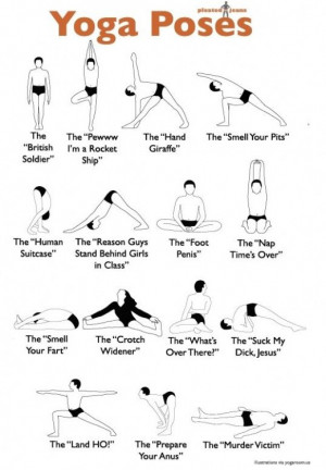 Yoga Poses – Translated