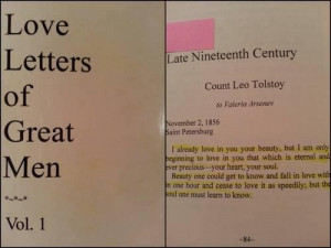 Love letters of great men best quotes