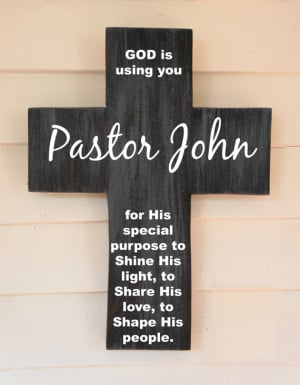 Thank You Pastor Quotes Pastor appreciation gift