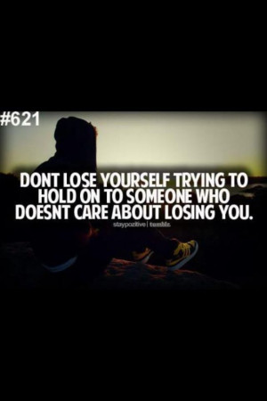 Dont lose yourself