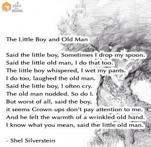 Little Boy & old man poem
