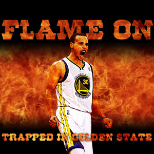 Stephen Curry on fire