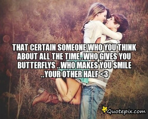 hes someone special quotes go for someone who makes you caught up in ...