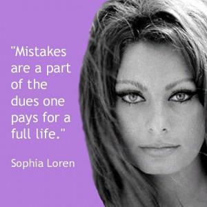 Sophia Loren Quotes | Movie Actor Quotes - Sophia Loren | Love Love ...