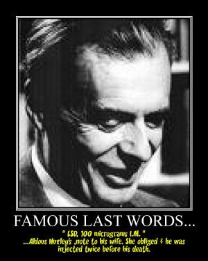 Description Aldous Huxley, Famous Last Words.jpg