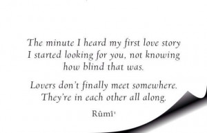 Rumi One of my all time favorites!!
