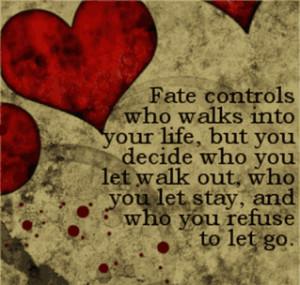 love, fate, control