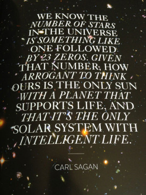 ... We Can All Benefit From The Wise And Profound Words Of Carl Sagan