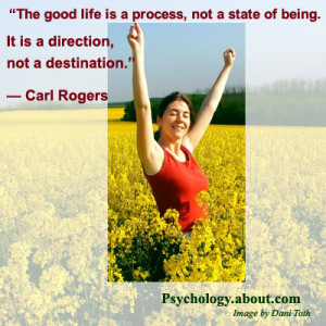 Carl Rogers Quote - © Kendra Cherry, adapted from an image by Dani ...