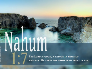 ... Times Of Trouble. He Cares For Those Who Trust In Him. ~ Bible Quote