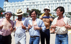 Monty Python reunion: TERRY JONES, ERIC IDLE, TERRY GILLIAM, GRAHAM ...