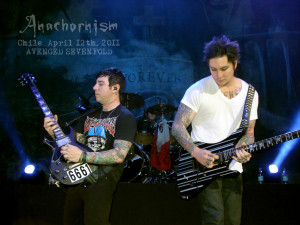 Zacky Vengeance And Synyster Gates
