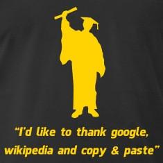 Internet Graduate Graduation thanks T-Shirts