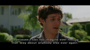 couple, love, movie screenshot, quote, relationships, seth cohen, so ...