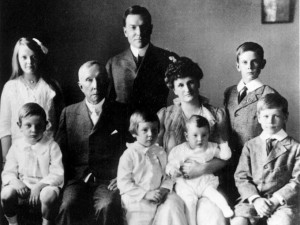 John Davison Rockefeller (John D. Rockefeller) Family Photo's