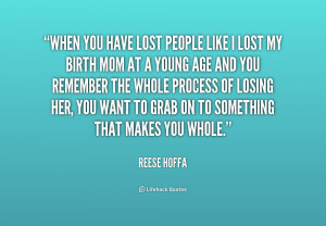 Lost You Mom Quotes