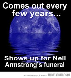 funny moon landing on Earth art
