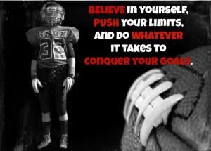 FOOTBALL QUOTES.....picture idea