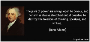 John Adams Freedom
