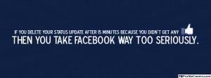 Facebook Addiction Timeline Cover Image