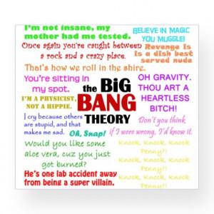 Big Bang Quotes Wine Label