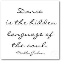 Ο χορός είναι η κρυμμένη γλώσσα της ...