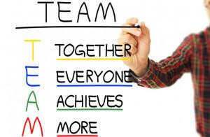 Teamwork Quote Clip Art