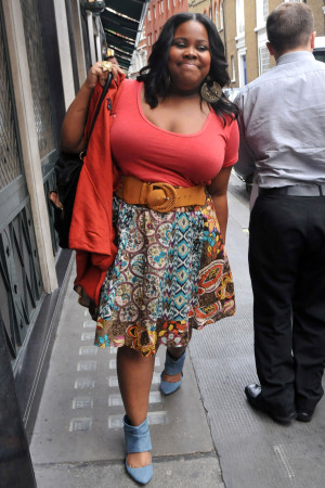 Check out Amber Riley's Fresh Style!