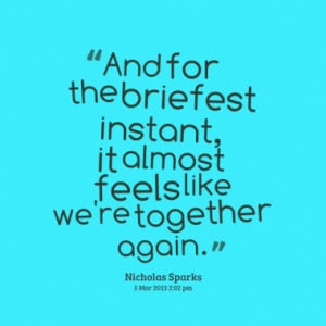 ... feels like we re together again quotes from joko riono published at 04