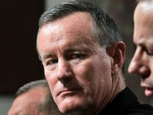 William H McRaven C is seen on Capitol Hill in Washington Picture