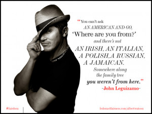 "... John Leguizamo Says Latino Immigrants Are ""The Fuel Of"" The U.S"