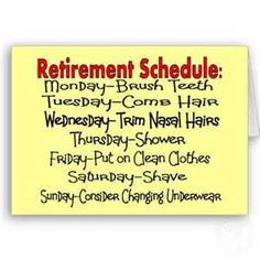 retirement schedule more retirement schedule retirement idea 6 1