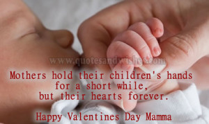 Happy valentines day mother 1 Happy Valentines Day quotes for Mother ...