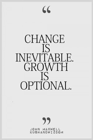 change and growth
