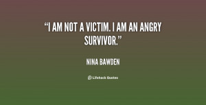 Being A Victim Quotes