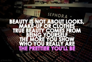 quotes about not being beautiful