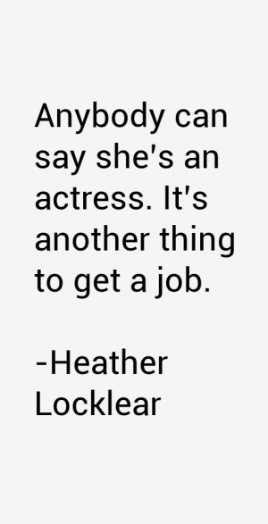 Heather Locklear Quotes amp Sayings