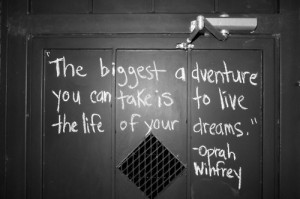 adventure, dreams, life, live, quote