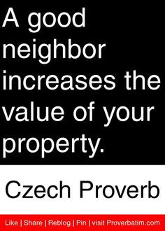 Neighbor Quotes