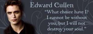 Edward Cullen Team Twilight Saga Eclipse Quote Funny