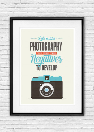 Life quote inspirational quote motivational print camera poster ...