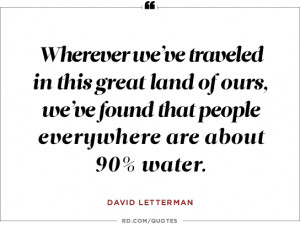 David Letterman on the apocalypse...
