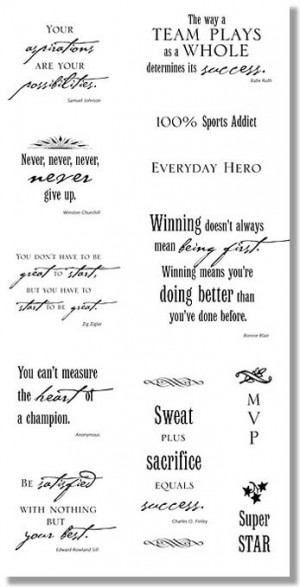 ... sports quotes and sayings depicted is just one of the quotes