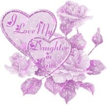 LOVE MY DAUGHTER-IN-LAW SHE IS TRUELY THE BEST SHE'S A SPECIAL GEM ...